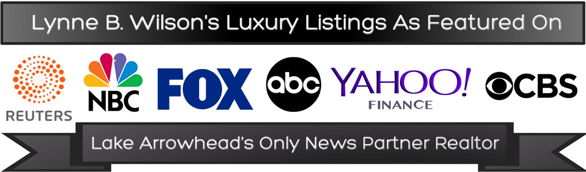 Lynne B Wilson's Luxury Listings are featured on Reuters NBC FOX ABC Yahoo Finance CBS and more!