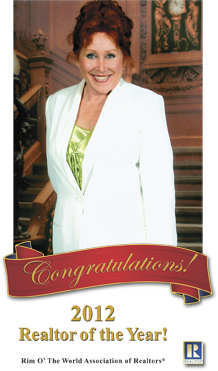 Lynne voted Realtor of the year in 2012 after great success selling Luxury Cabins, Waterfront Mansions, to quiet cabins
